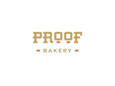 Proof Bakery - Logo Design