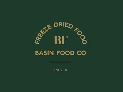 Basin Food Co - Logo Design