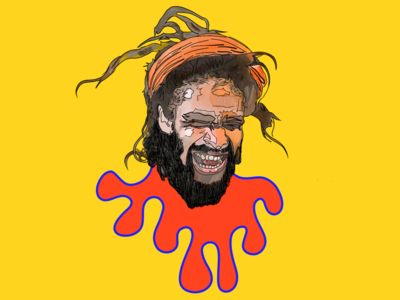 Art work 001 - Rasta rasta, nomad art