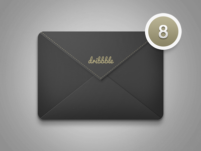 Icon Mail photoshop ui icon mail
