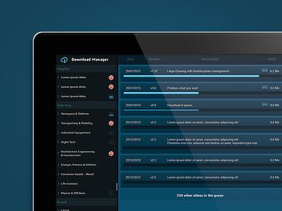 Sutterlity Download Manager 2x download ipad menu progress bar