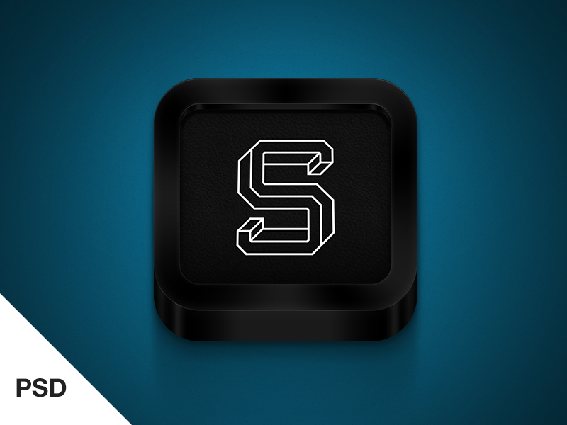 Black iPhone icon  icon psd app logo ios clean freebies iphone