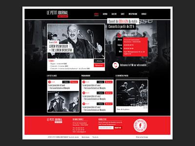 Webdesign LPJM webdesign photoshop