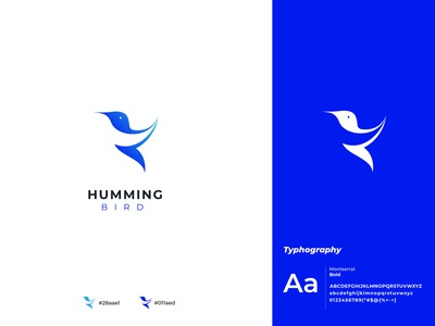 Hamming bird branding icon design