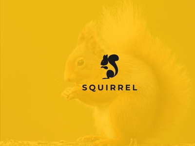 squirrel logo illustration typography brand and identity design icon abstract logo abstract squirrel logo logo dribbble best shot corporate branding branding