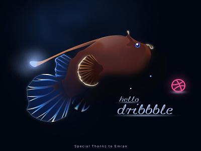 Hello Dribbble hello dribbble first shots illustration invites dribbble dribbble best shot