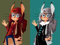 Squirrel's Summer and Winter Suit Design