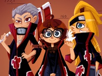 Hidan, Deidara and me