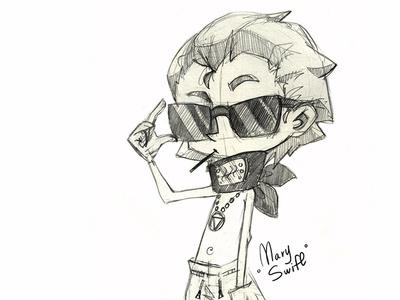 Hidan hidan naruto akatsuki cute character emotion anime desing character design character illustration