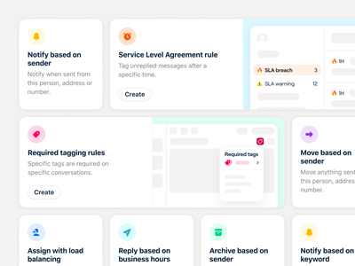 Rules library cards 👀 app front system icons colors illustrations cards library rules