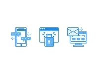 Digital & Teachnology Icon set