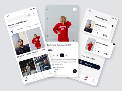 Fashion e-commerce Mobile App app design mobile app mobile ui app mobile app design mobile design fashion fashion app fashion brand e-commerce e-commerce app e-commerce shop e-commerce design