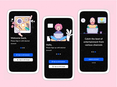 Onboarding walkthrough ui walkthrough screen onboarding ui whoooa illustration illustrations walkthrough walkthroughs onboarding mobile ios iphone mobile app ui mobile ui iphone ui