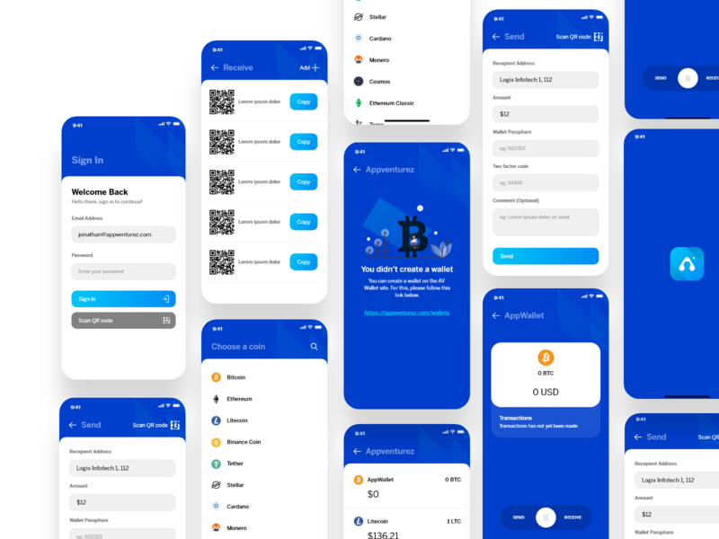 Bitcoin | Wallet mobile application wallet adobexd transaction money bitcoin wallet bitcoin logo creative ux design clean app interaction ui design