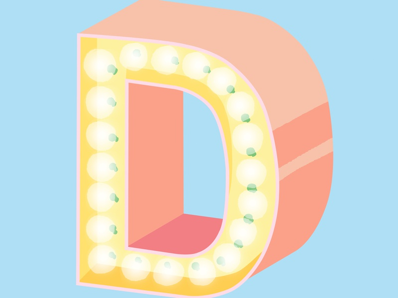 36 Days Of Type D typeface d letter letter 36days-d 36daysoftype06 36days-adobe 36daysoftype typography lettering type graphic desgin illustration design