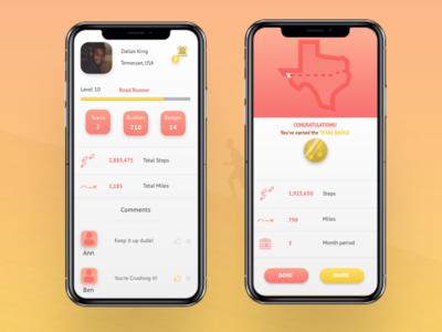 TravelFit App Design
