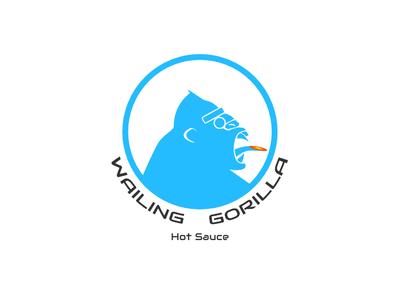 Wailing Gorilla Hot Sauce Logo