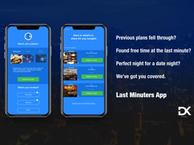Last Minuters App