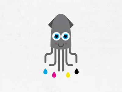 CMYK Squid