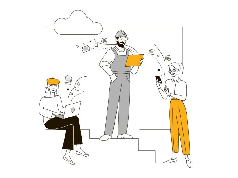 Citrus illustrations branding vector flat illustration ui adobe illustrator illustraion illustrator artwork team cloud