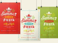 Summerclash Fiesta Poster