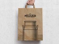 De Melkbus Paper Bag