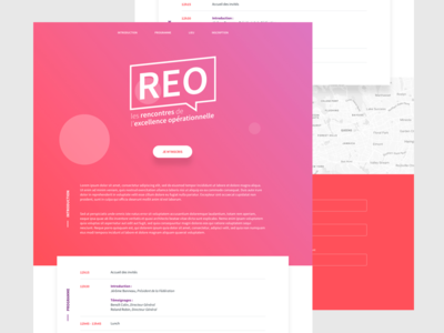 Landing page sketch program web landingpage landing logo gradient webdesign website