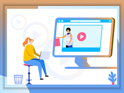 Video ads for retargeting