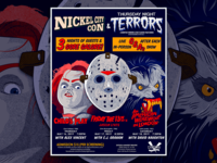 Thursday Night Terrors Nickel City Con 2019 Poster