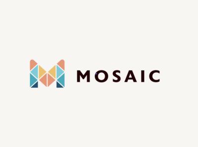Mosaic Logo vector design logo graphic design branding