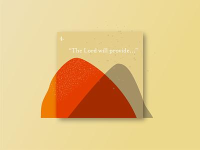 Card 4: Provision series art series graphic vector illustration vector art illustration design vector