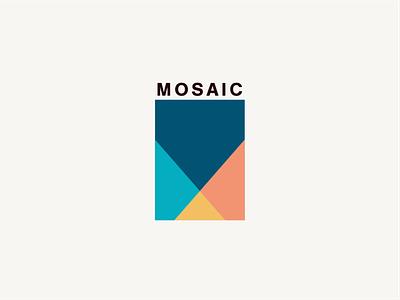 Mosaic 2 logotype branding design identity design brand identity brand design logo design vector logo design graphic design