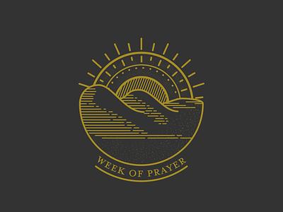 Week of Prayer 1/3 series graphic vector art logo series art illustration vector graphic design design vector illustration