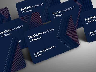 Fanatics Credit Card Design
