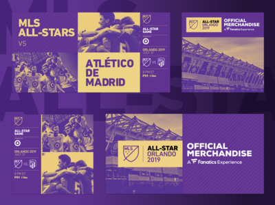 MLS All-Star Game Creative