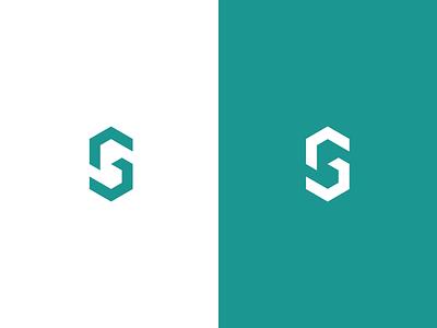 SG monogram monogram g s flat illustration concept branding brand vector modern minimal logo identity design