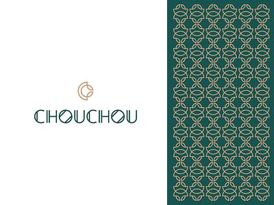 chouchou pattern restaurant c clean illustration concept branding brand vector modern minimal logo identity design