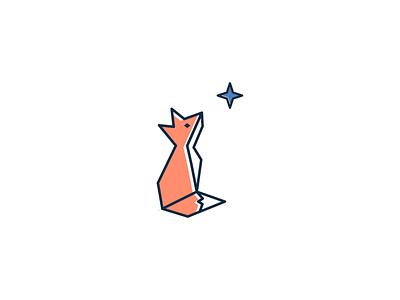 Fox star fox illustration concept branding brand modern minimal vector logo identity design