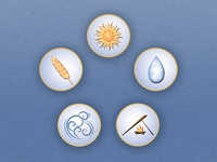 Life Sustaining Icons