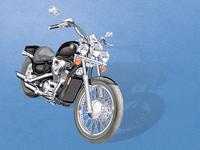 Honda Shadow Motorcycle