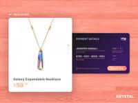 002 Krystal   Credit Card Checkout