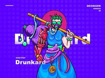 人造人酒号 插图 设计