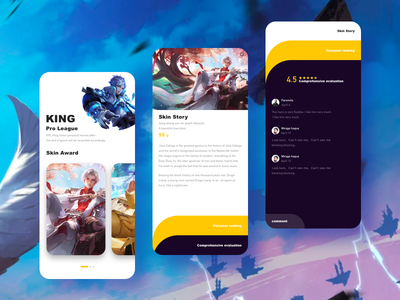 Glory of Kings- 04/09/2019 at 11:37 AM ux 设计 ui