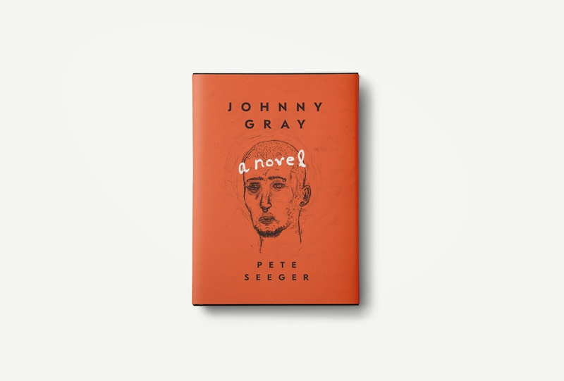 Johnny Gray hand drawn illustration book cover logo book art book graphicdesign editorial design design typography branding