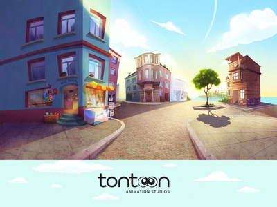 Tontoon Animation Studios / Brand Design and Animation Project