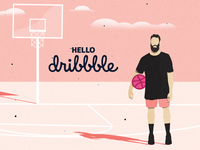 Hello Dribbble! Rookie Debut.