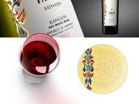 Coaster for Takar wine