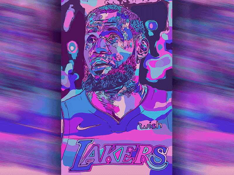 Hello Dribbble! First shot ft. Lebron James artist art vector art vector drawing new illustration shot first
