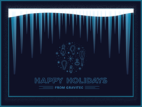 Gravitec Holiday Card Concept