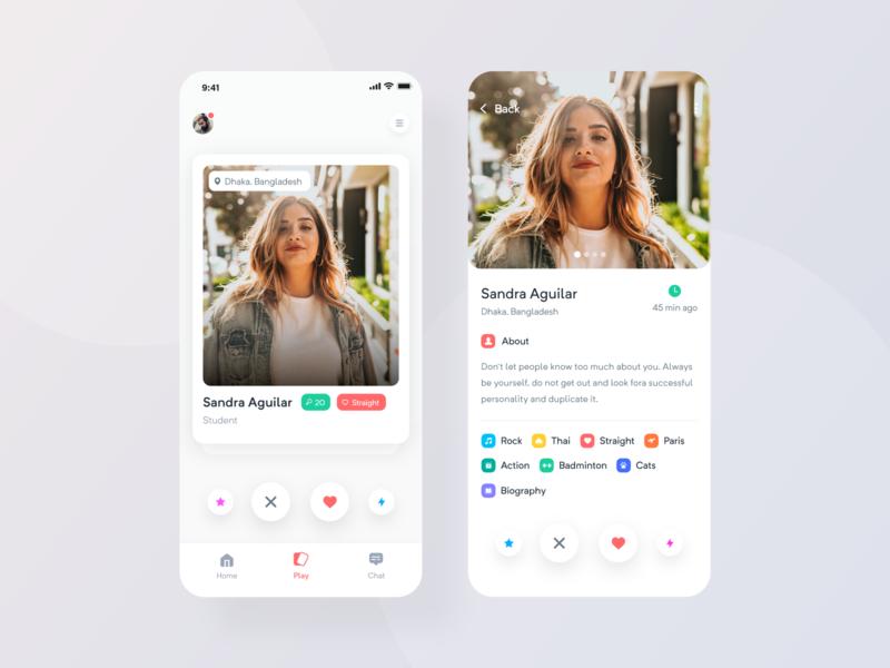 Dating App Design dating app design online dating date app ui design app  design app home page minimal app design ux minimal app app ui app concept ios app app
